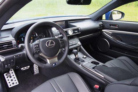 lexus rc f interior 2015 audi rs 5 vs 2015 lexus rc f autoguide com