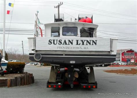 lobster boat plymouth ma provincetown lobsterboat gets a drop down tailgate