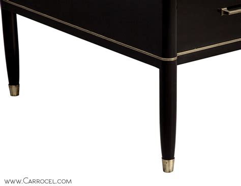 Custom Made Office Desk Custom Made Black Lacquered Executive Office Desk Carrocel Furniture