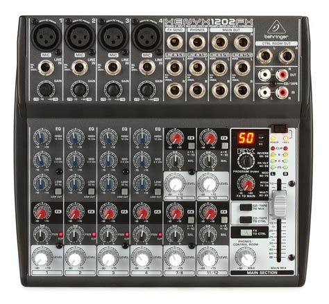 Mixer Behringer 1202fx behringer xenyx 1202fx mixer with effects sweetwater