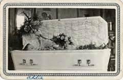 Judy garland glass casket