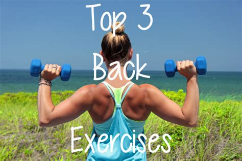 top 3 at home back exercises fit