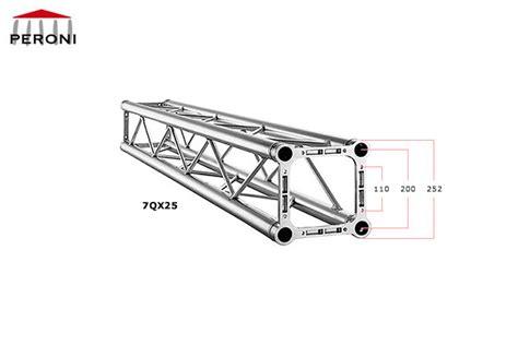 traliccio americano 7qx25 trusses cuadrados 25 cm trusses de aluminio peroni