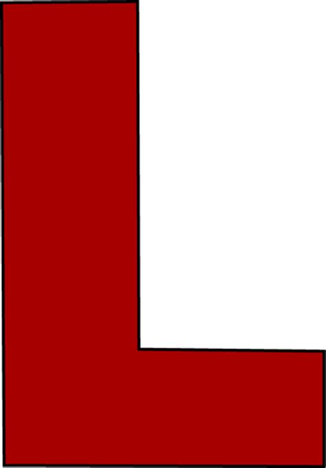 Large L Letter L Clipart Clipartsgram