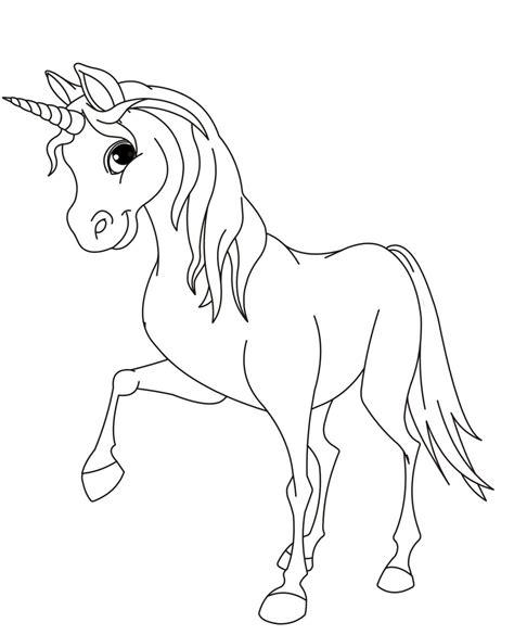 Kostenlose Vorlage Einhorn Ausmalbilder Einhorn 02 Kostenlose Ausmalbilder Zeichnung Search Results Coloring Pages