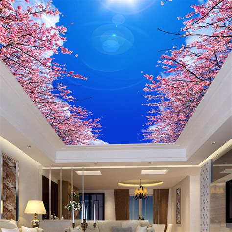 ceiling mural wallpaper buy wholesale ceiling murals wallpaper from china