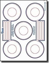 Cd Stomper Template by 100 Mini Cd Labels