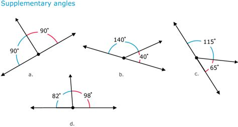 a supplementary angle to a 31 angle pairs read geometry ck 12 foundation