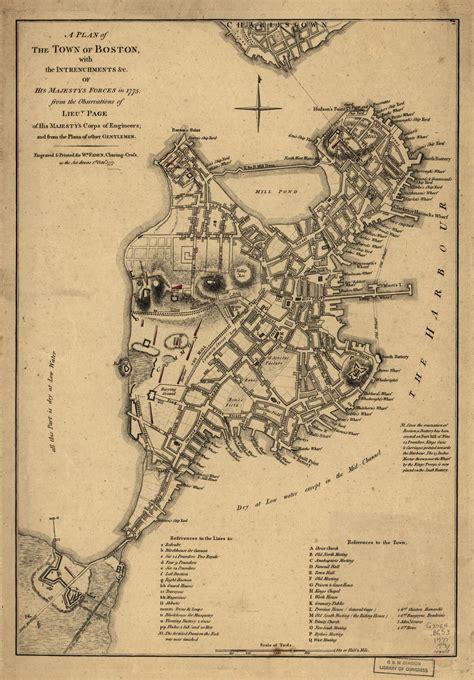 boston map 1775 dr joseph warren s informant journal of the american