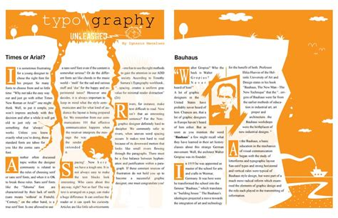 magazine layout creator graphs for a magazine create it
