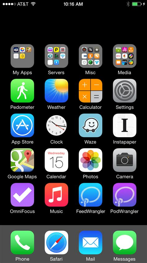 iphone icons invisible ios home screen icons david smith independent ios developer
