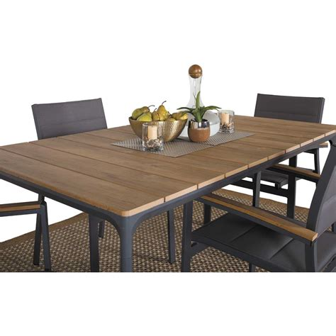 5 patio dining sets carbon oak 5 patio dining set z 5010t z 5020ac 4
