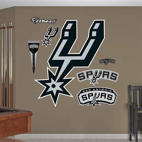 Spurs Decorations by San Antonio Spurs Alternate Logo Wall Decal Shop Fathead