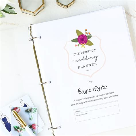 Free Wedding Planner by Wedding Planner Printable By Basic Invite