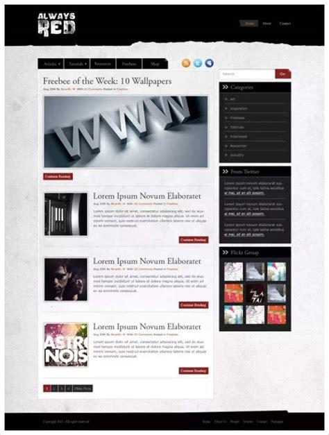 website tutorial blog 50 tutorials for designing website in photoshop ultimate