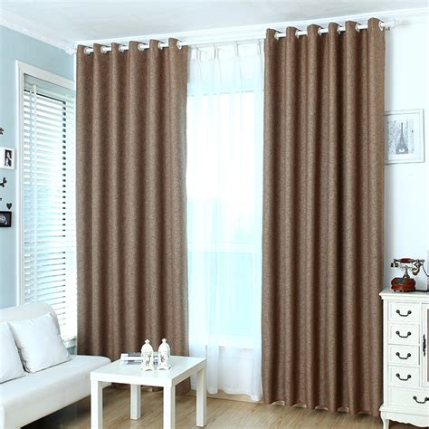 modern draperies brown curtain modern curtains customize linen