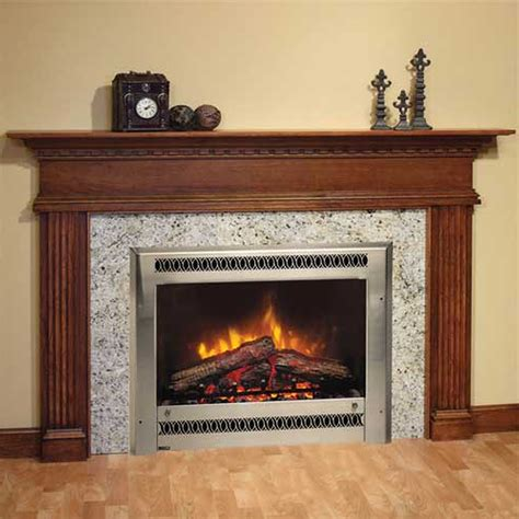 Fireplace Surround by Fireplace Surrounds With Marble Panel And