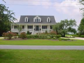 low country style home traditional exterior - Country Style Homes
