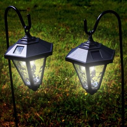 Solar Carriage Lights Solar Powered Garden Coach Lights