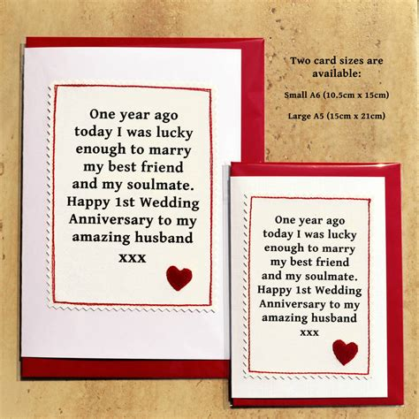 Handmade Anniversary Cards For Husband - handmade anniversary card by arnott cards