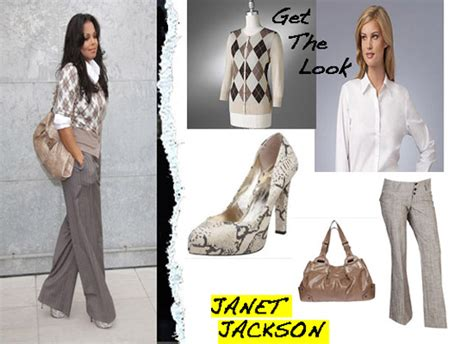 Cardigan Outer Janet By Miulan look for less janet jackson at the giorgio armani show fashion bomb daily style magazine