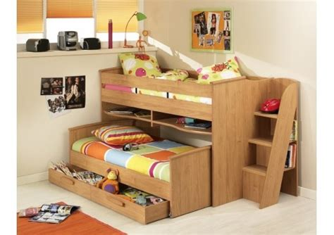 gami montana cabin bed with guest bed and additional