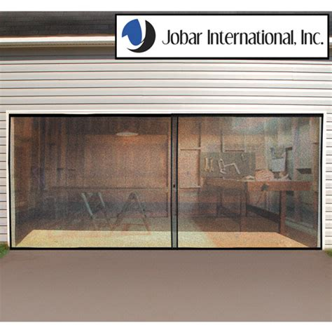 Screen For Garage Door Opening by Ebay