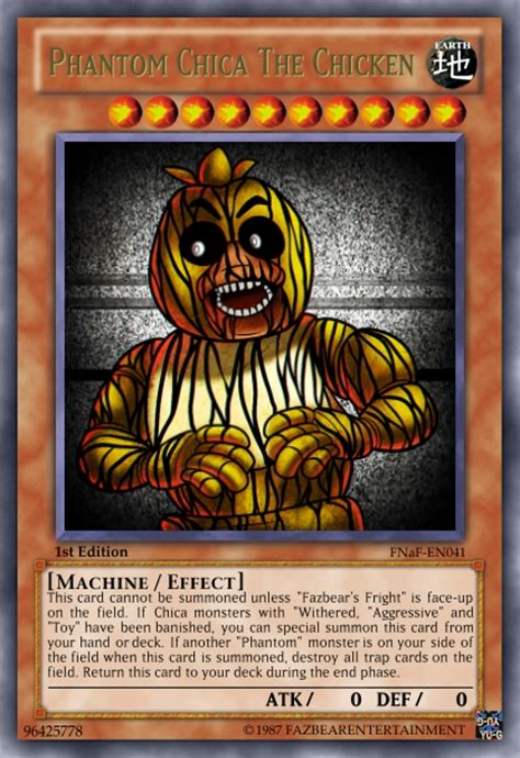 Devour Deck by The Five Nights At Freddy S Set Monsters Finished Edits