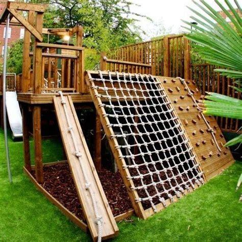 Jungle Gym Ideas Kids Outdoor Playhouses Diy Playground