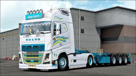 truck trailer volvo fh frans kuiper   ets