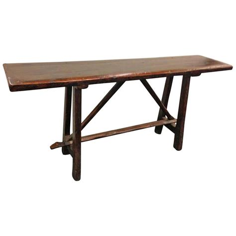 18th century italian walnut console or sofa table at 1stdibs