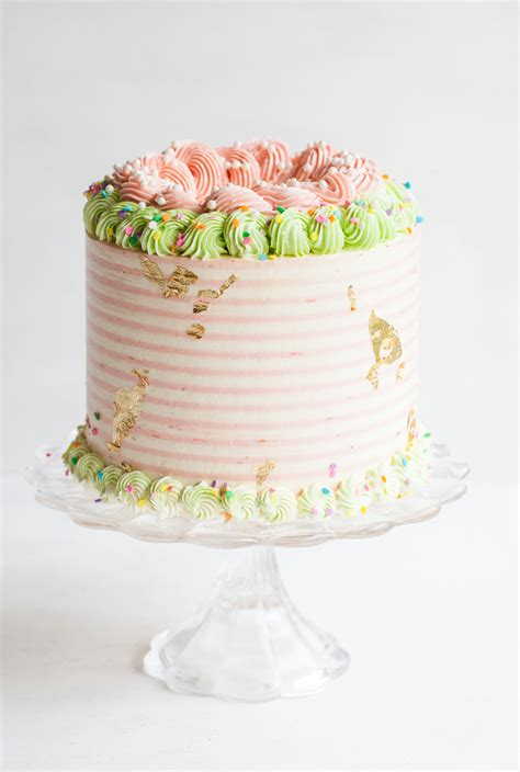 Gold Box Butter Layer Cake 1 rhubarb crisp unicorn cake layered book release style