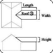 Hip Roof Area Calculator Roof Area Calculator For Tile Slate And Felt