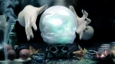 diy magic crystal ball halloween room decor youtube