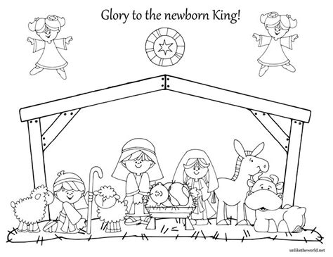 nativity coloring utw png 3300 215 2550 stitchery ideas