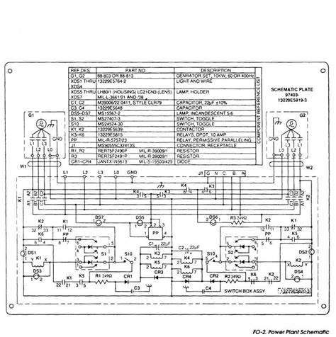 schematic layout of diesel power plant fo 2 power plant schematic tm 9 6115 660 13p 347