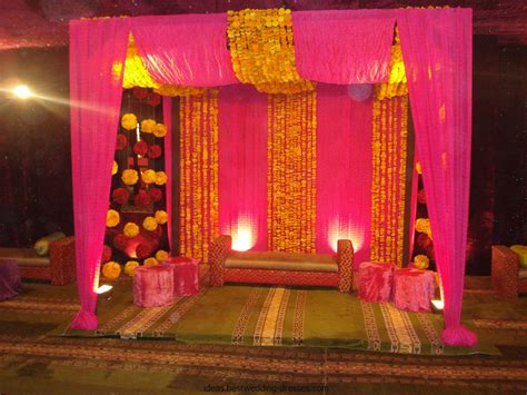 marriage home decoration latest pakistani mehndi stage designs mehndi stage