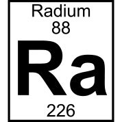 Ra Periodic Table by Element 88 Ra Radium T Shirt Spreadshirt