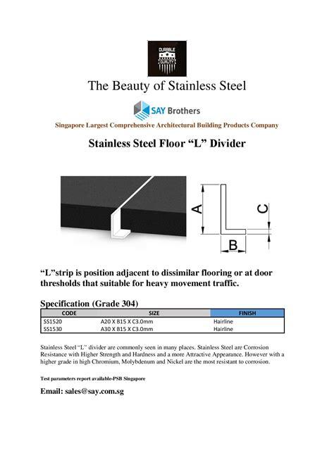stainless steel floor l stainless steel floor say brothers
