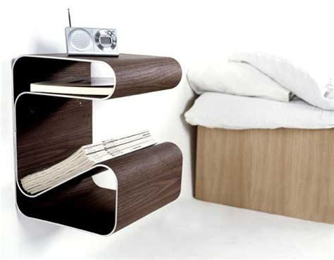 Side Table For Bed 30 Original Alternatives To A Common Bedside Table