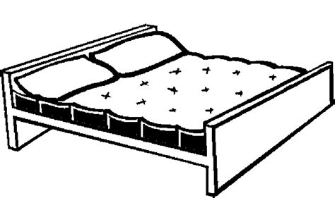 page bedding bed 47 free printable bedroom furniture coloring pages