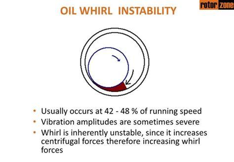 journal bearings oil whirl and oil whip sleeve bearings