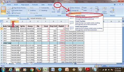 cara membuat invoice excel 2007 cara membuat table pada excel 2007 diaryku