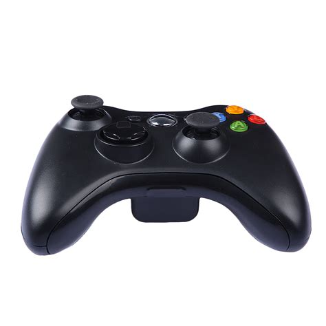 Gamepad Microsoft free shipping 1pcs wireless gamepad remote controller for xbox 360 wireless black joystick for