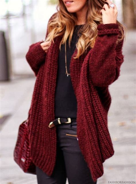 pattern sweaters tumblr wine red oversized crochet cardigan pictures photos and