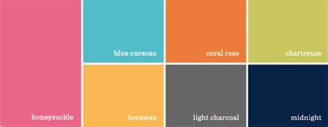 tropic colour blog