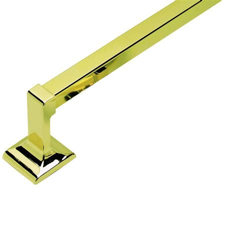 bar design in house design house millbridge 24 in towel bar in polished brass 533273 the home depot