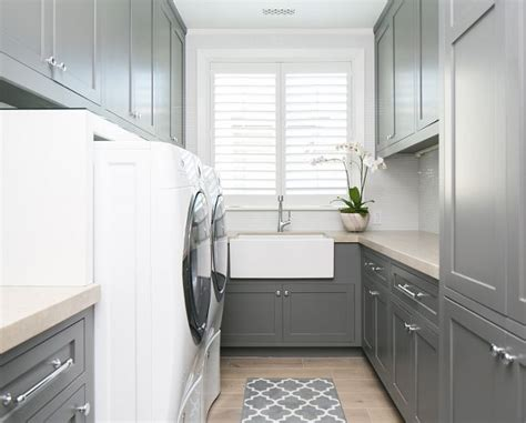 17 best ideas about grey laundry rooms on laundry quarter sawn white oak and