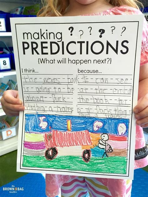 Activities Graphic 1 17 best ideas about prediction anchor chart on