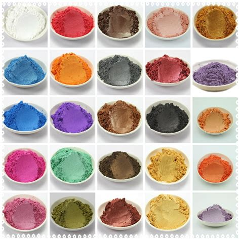 5g Mica Powder aliexpress buy 42 colors mixed healthy